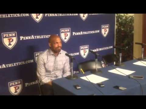 Penn Basketball Head Coach Jerome Allen Press Conference 1/31/15