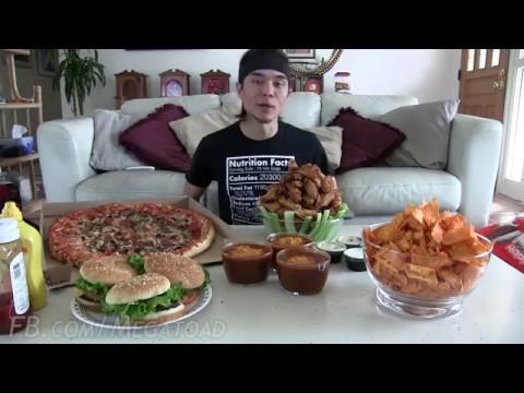Японец ест 20.000 калорий.     By Matt Stonie