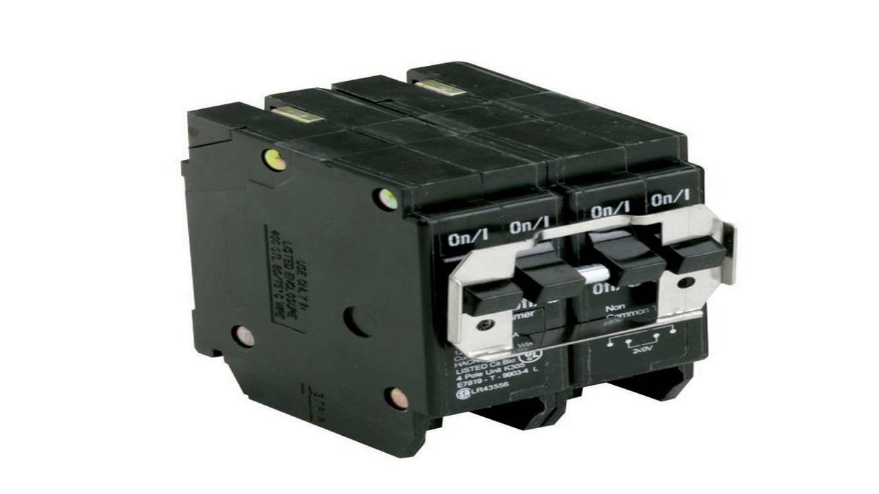 Siemens Q23030CT2 Two 30-Amp 30 Amp Double Pole Circuit Breaker