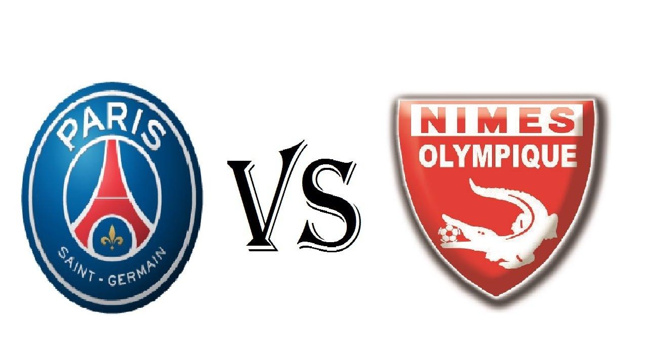 باريس سان جيرمان ونيم أولمبيك بث مباشر