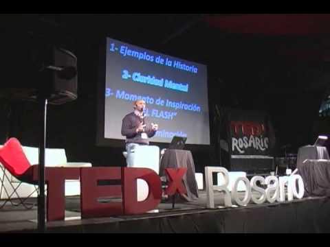 Como se nos ocurren las ideas: Estanislao Bachrach at TEDxRosario