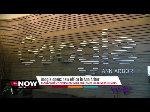 A Look Inside Google's New Ann Arbor Office