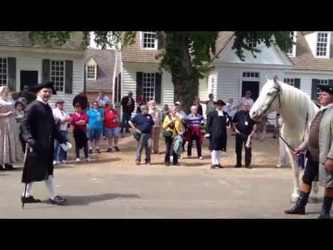 Colonial Williamsburg Horse Auction 1 of 2