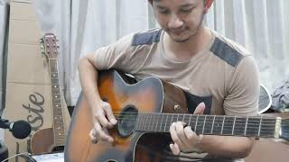outro solo romantic sunday-car the garden ost.hometown cha cha cha (acoustic) กีตาร์โปร่ง