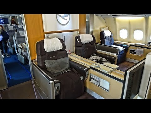 5* LUFTHANSA FIRST CLASS EXPERIENCE   MUNICH-LOS ANGELES   AIRBUS A340