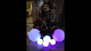 【愛團購 iTogo】LED發光球|七彩發光球|發光圓球小夜燈|防水泳池圓球燈 LED發光吊球燈|LED發光球|發光圓球吊燈