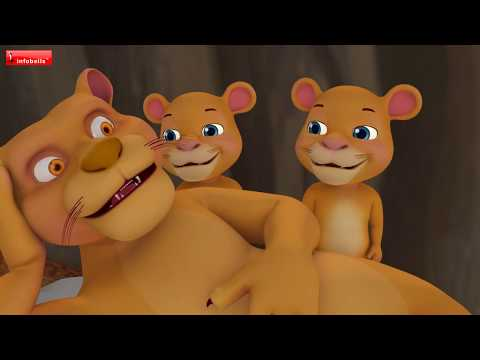 The Lion and the Fox Cub Hindi Kahaniya | Hindi Stories for Children | Infobells