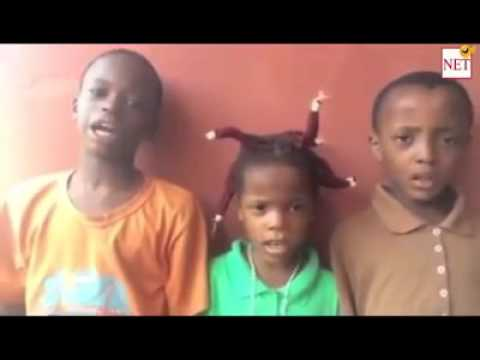 Kids Singing the Nigerian National Anthem (So Funny)