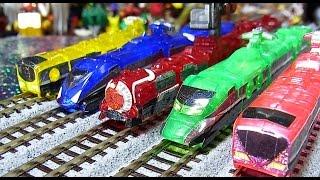 よみがえるミニプラ 烈車合体EXトッキュウオー Rainbow  Clear Special train