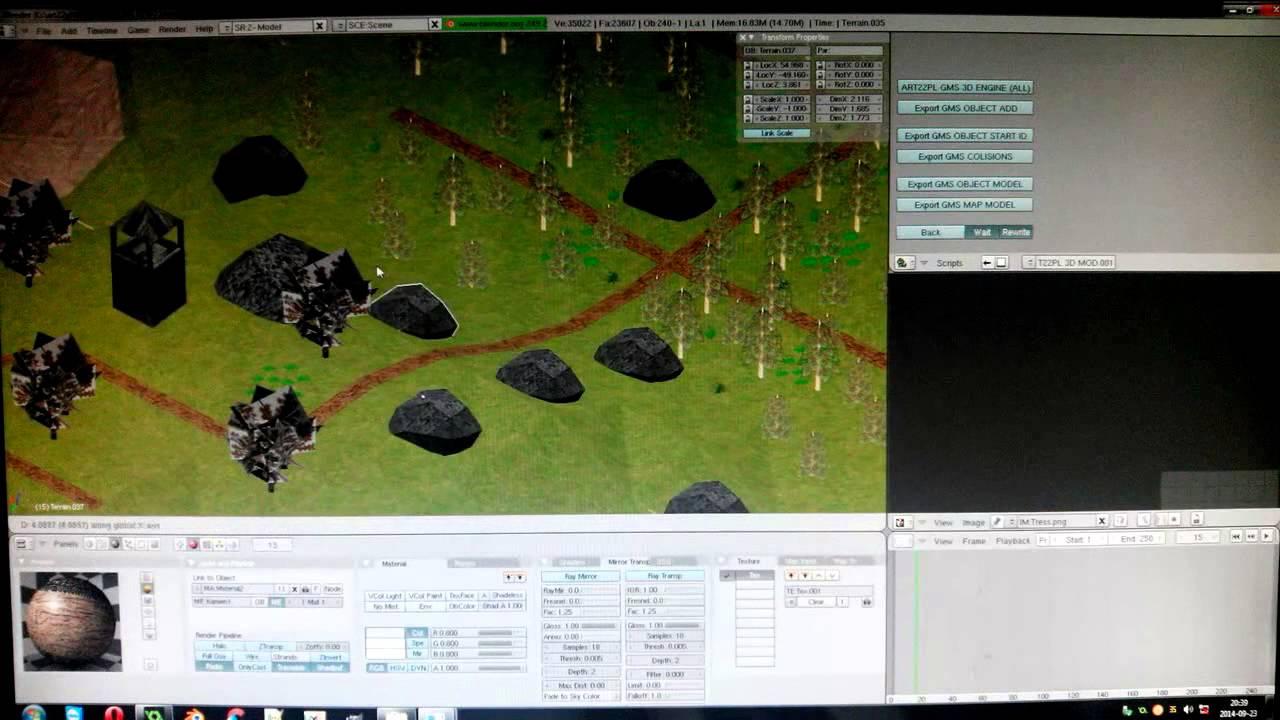 Gamemaker Studio 3D models & collisions - Blender export