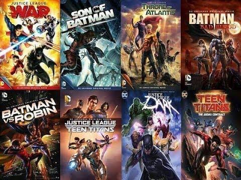 Descargar Películas Animadas Dc Comics Youtube