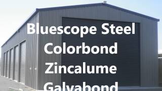 Bluescope Steel Kit Sheds Garages Carports