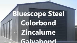 Bluescope Steel Kit Sheds Garages Carports