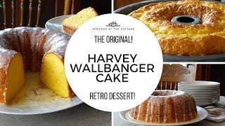 The original HARVEY WALLBANGER CAKE!!!