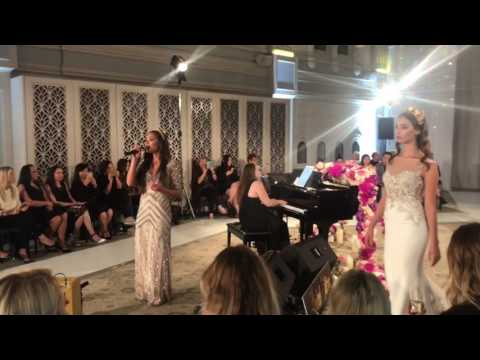 Limited Edition Performing at the Badgley Mischka Bridal Event by Eternal Bridal