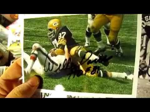 TTM Autograph Return - Willie Davis Hall Of Fame Football