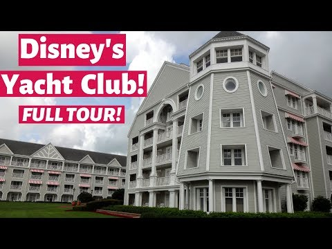 Disney's Yacht Club Resort - FULL TOUR!