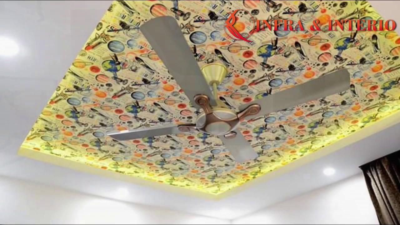 Latest False ceiling designs for living room   Modern ...