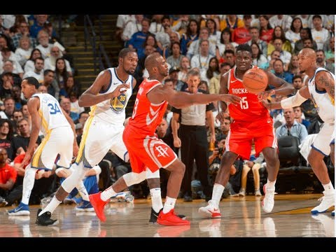 Best of Warriors vs Rockets on Opening Night | Late 4th Quarter