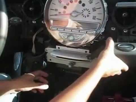 R56 2006 2010 Mini Cooper Sdometer And Radio Removal How To You