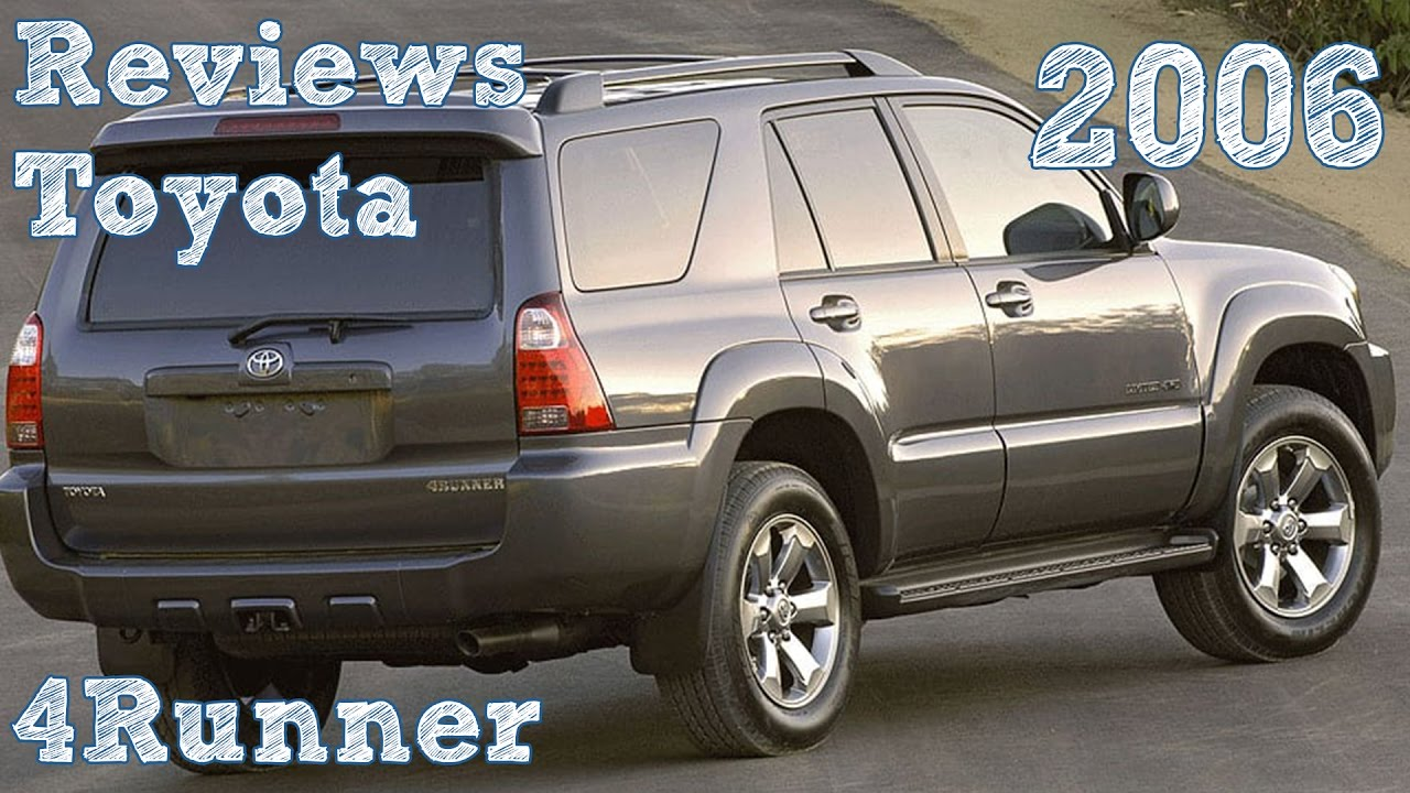 Reviews Toyota 4Runner 2006 - YouTube
