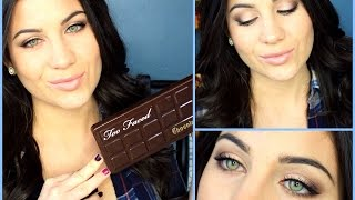 Too Faced Chocolate Bar Palette Tutorial! Thumbnail