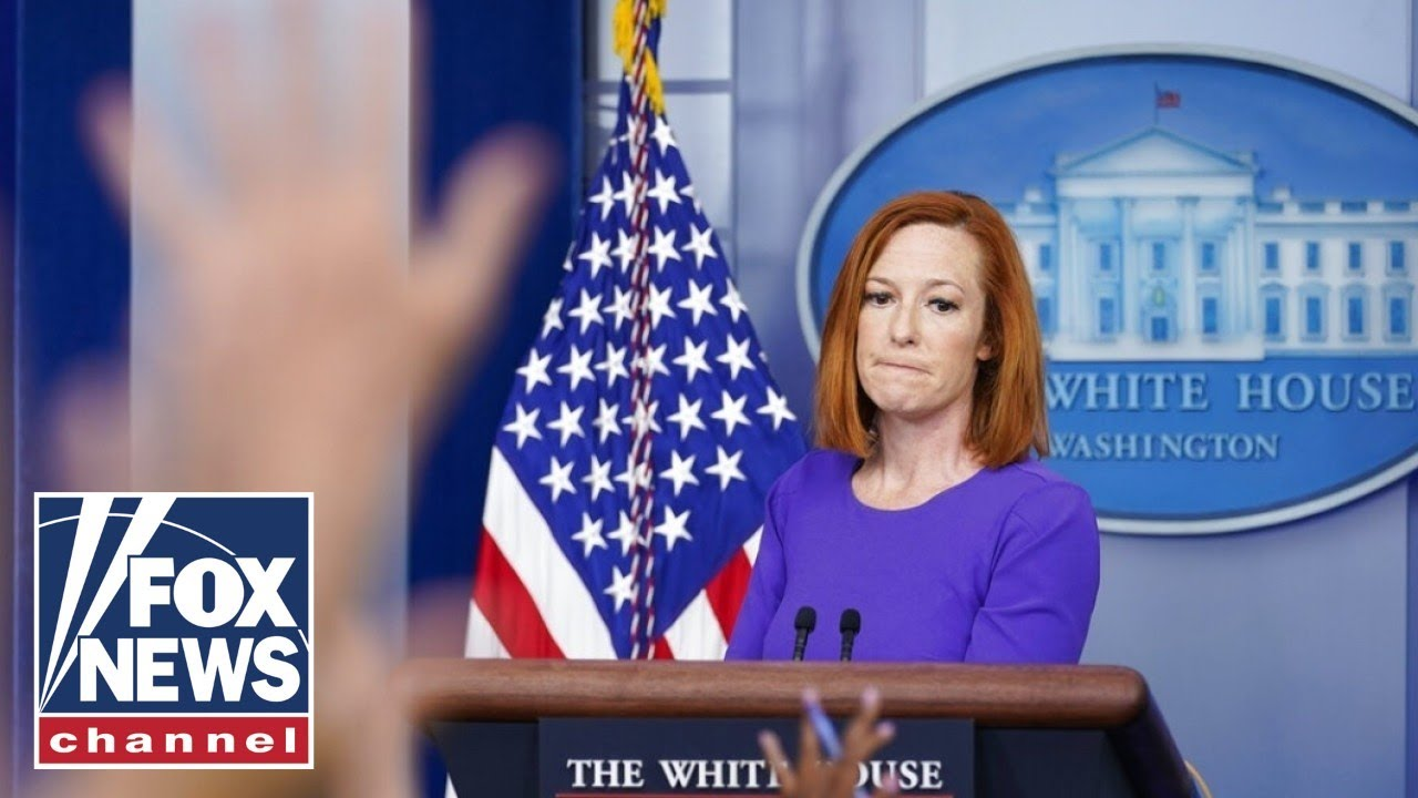 Download Psaki accused of violating the Hatch Act at White House podium