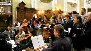 Kantiléna (mixed choir) - All Souls Day concert rehearsal 2009 Pt. 1