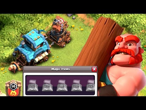 NEW CHARACTER, CLAN GAMES, MAGIC ITEMS + MORE   Clash of Clans Christmas Update