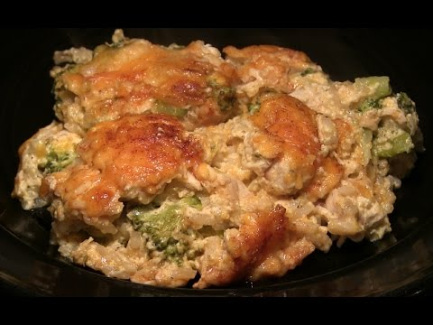World's Best Cheddar Chicken Broccoli Casserole Recipe: Cheesy Chicken Broccoli Casserole