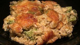 Worlds Best Cheddar Chicken Broccoli Casserole Recipe: Cheesy Chicken Broccoli Casserole