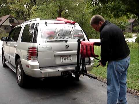 Take A Seat 3 In 1 System Bike Rack Cargo Carrier