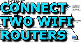 How to Connect / Bridge Two Router Wirelessly Using WDS Wireless