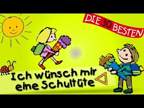 Ich wünsch mir eine Schultüte - Die besten Lieder für den Schulanfang || Kinderlieder