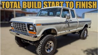 1979 F-350 Supercab Resto-Mod Start to Finish