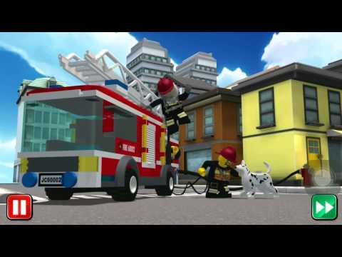 เลโก้ ตำรวจดับเพลิง EP 8