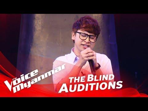 "Tsaw Tsaw: ""ခ်စ္ဦးေမ"" - Blind Audition - The Voice Myanmar 2018"