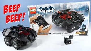 LEGO DC Super Heroes App-Controlled Batmobile Build and Test Drive