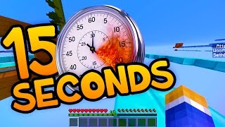 """15 SECONDS"" Minecraft Parkour Challenge with Woofless!"