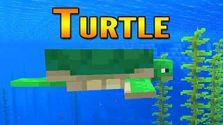 Minecraft 1.13 Aquatic Update Turtles Showcase | Turtles in Minecraft