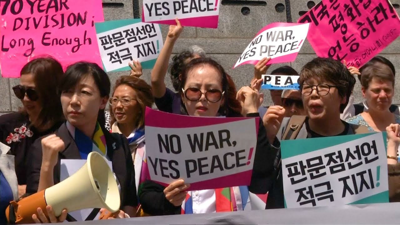 As Trump Pulls Out of N. Korea Summit, Women Activists Head to DMZ to Promote Korean Peace Process
