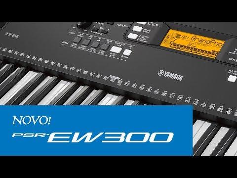 Novo psr s670 demonstra o expomusic 2015 doovi for Yamaha psr ew300 review