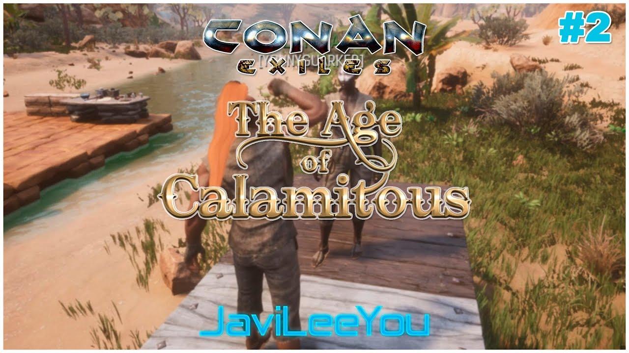 2 Primer asentamiento - Conan Exiles - Age of Calamitous
