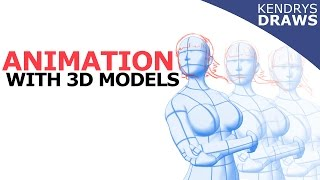 Clip studio paint- How to do animation with 3d models