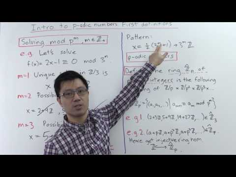 Intro to p-adic numbers: first definitions