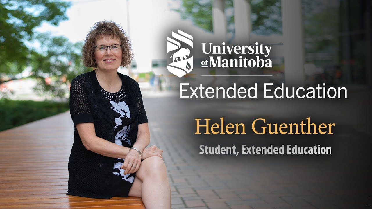 Extended Education At The University Of Manitoba Extended Education University Of Manitoba