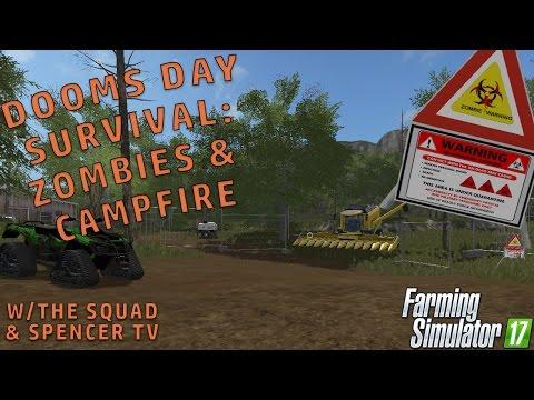 DOOMS DAY PT.3 ZOMBIE PREP (Re-upload) | Farming Simulator 2017