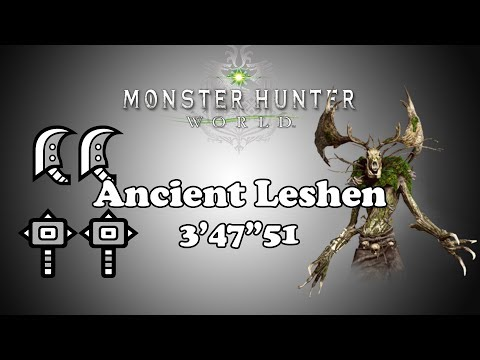 [MHW] 9☆ Contract: Woodland Spirit - Ancient Leshen - 3'47