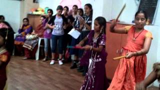 dandiya dance @ Nandini High School
