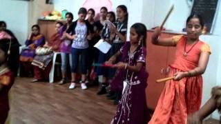 dandiya dance @ Nandini High School